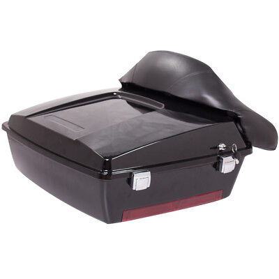Chopped Tour Pak Pack Luggage Case Tail Trunk for Harley FLHR FLHT FLHX FLTR for sale  USA