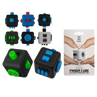 Plastic Finger Cube Fidget Fingers Stress Relief Toy Anxiety