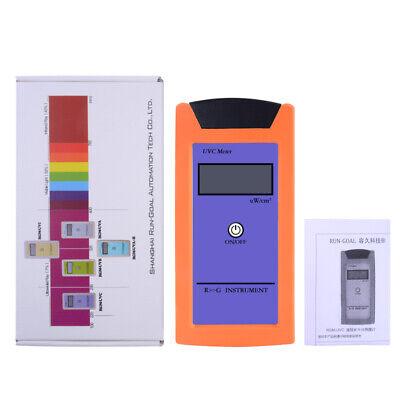 UVC Light Meter Spectrum 220-280NM UV Radiation for Reptile Measurement Tool