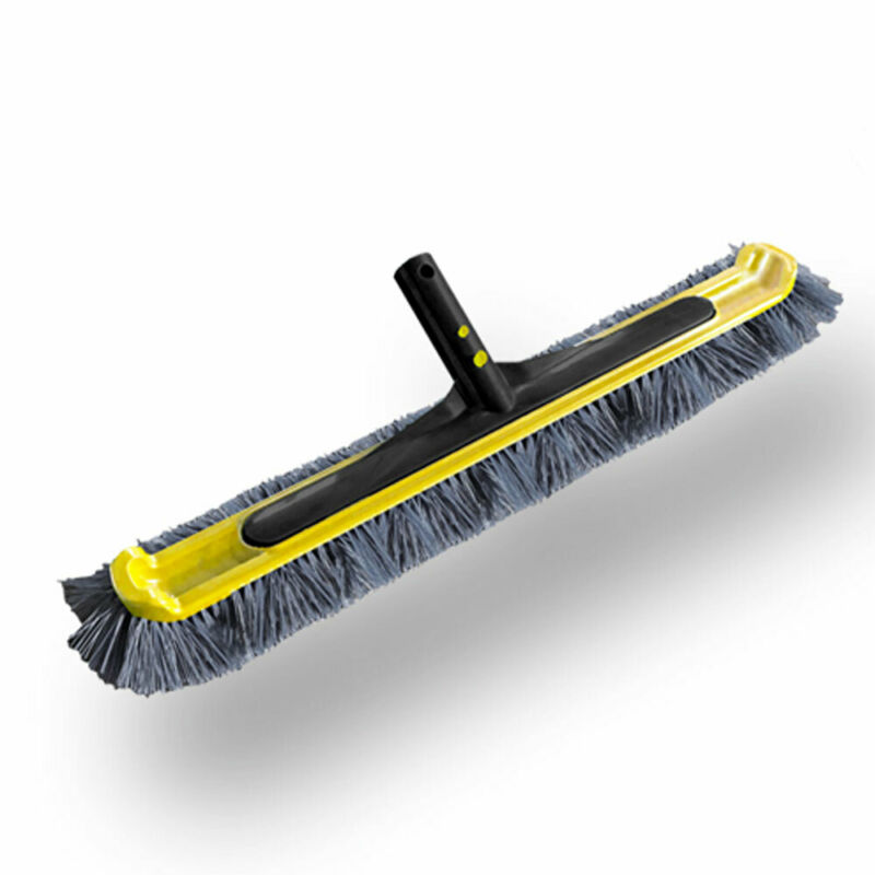JED Pool Tools Wide Reach Swimming Pool Flex Nylon Bristle Cleaning Brush, 20 In