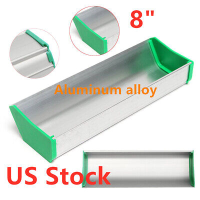 Usa Stock 8 Dual Edge Emulsion Scoop Coater For Screen Printing Aluminum Alloy