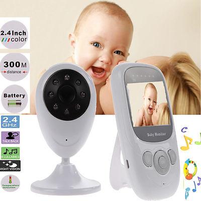 "2.4""LCD Wirless Digital Video Baby Monitor Camera Night Vision Audio"