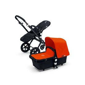Bugaboo Cameleon 3 - Great Condition - Orange Fabric Set - Lots of Extras