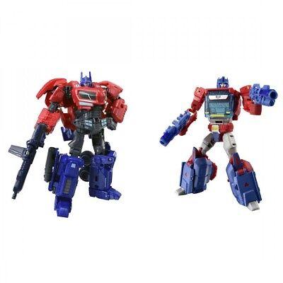 Takara Tomy Transformers TLK-EX Optimus Prime & Orion Pax 2 Set