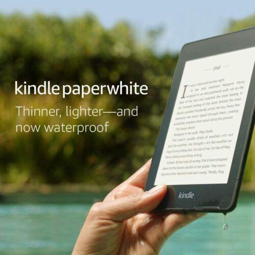 """Amazon Kindle Paperwhite 6"""" 10th Gen WiFi E-Reader W/ Light Waterproof 8GB 32GB"""