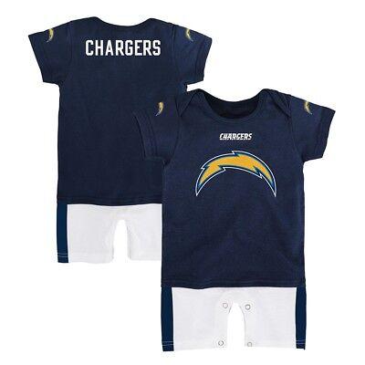 Los Angeles Chargers NFL Outerstuff Infant Navy Blue Fan Jersey Romper
