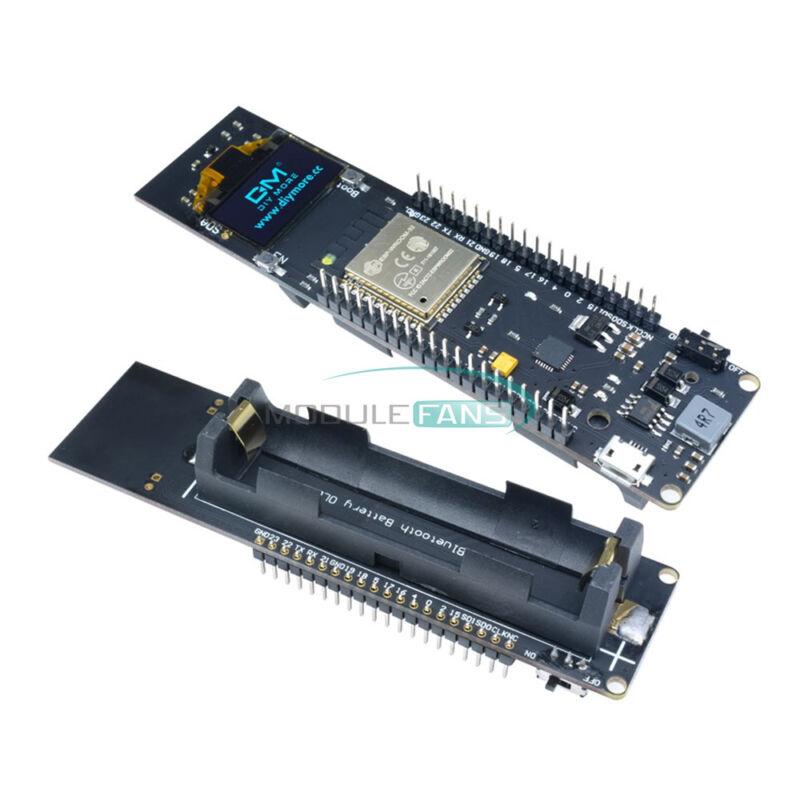 ESP32 WiFi Bluetooth 18650 Battery CP2012 0.96 inch Blue OLED Development Board