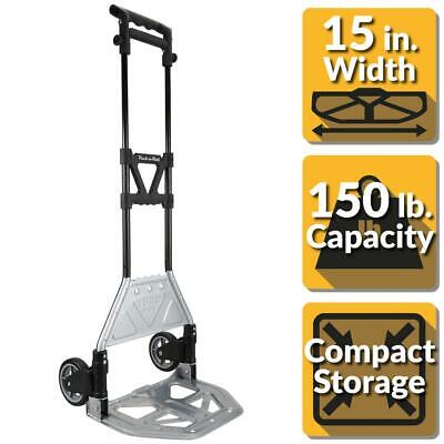 Olympia Pack-n-roll 150 Lb. Heavy Duty Folding Hand Truck With Load Support And