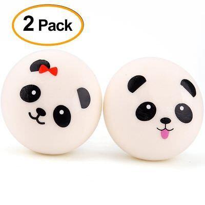 4 cm Jumbo Slow Rising Panda Squishy - 2 Pieces On Sale