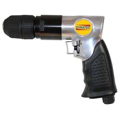 "3/8"""" Air Drill Compressor Driven Keyless Chuck Reversible Ergonomic AR/T1004A"