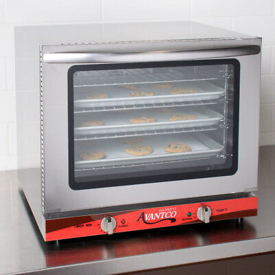 Avantco 12 Size Electric Countertop Commercial Convection Oven 208240v New