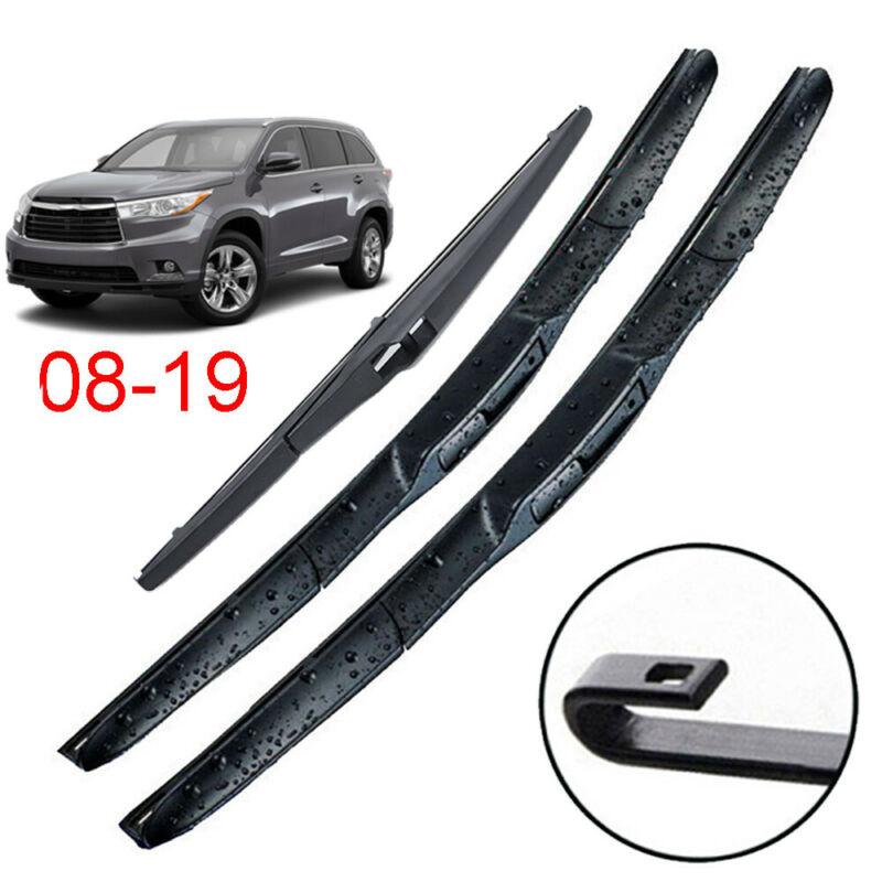 Rear Wiper Blade and Arm for toyota Highlander 2008-2018 back windshield wiper
