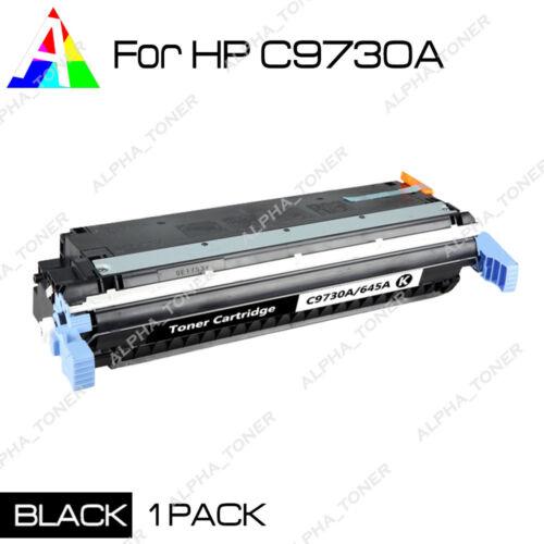 1PK 5500 5550 C9730A Black Toner Cartridge