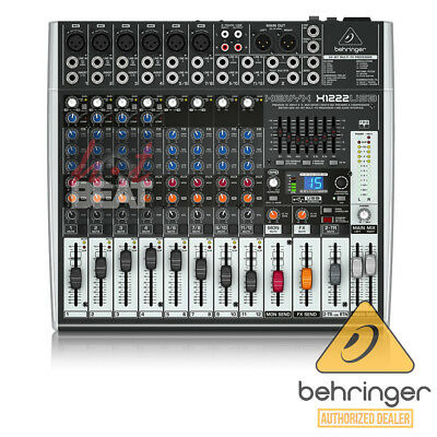 Behringer XENYX X1222USB 16-Input Live Sound Mixer Board USB Effects EQ 110-240V. Buy it now for 299.0