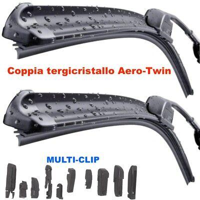 2 Tergicristallo Spazzole AREOTWIN Anteriori FIAT 500 dal 2007 in poi