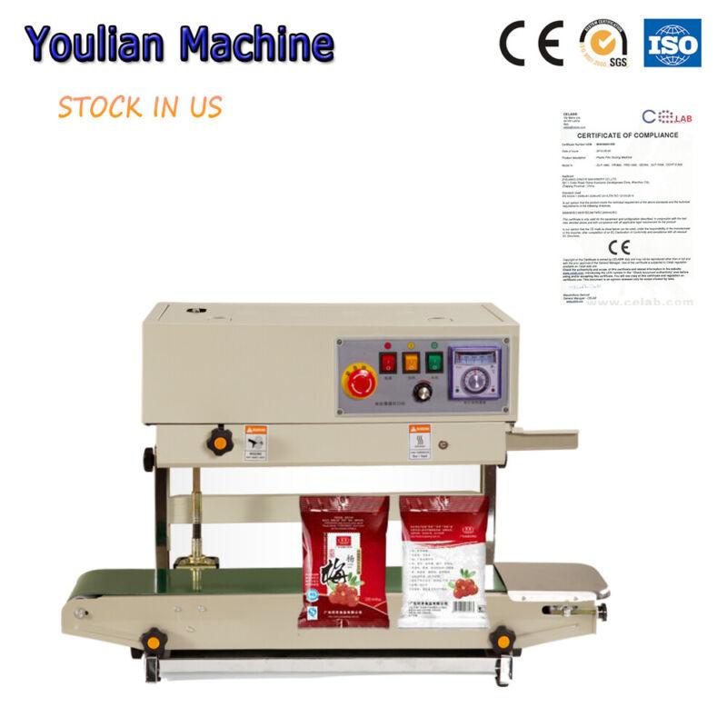 FR-770 Vertical Continuous Sealing Machine Adjusted Powder/Liquid Bag PVC Sealer