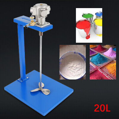 5 Gallon Pneumatic Paint Mixer Blender Agitator Industry Coating Mixing Machine