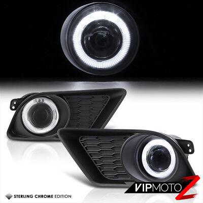 2011-2014 Dodge Charger Front Bumper Projector Fog Light Lamp Kit Left+Right Set