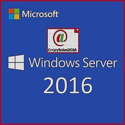 Windows Server 2016 Rds Remote Desktop Services 50 User Cal License