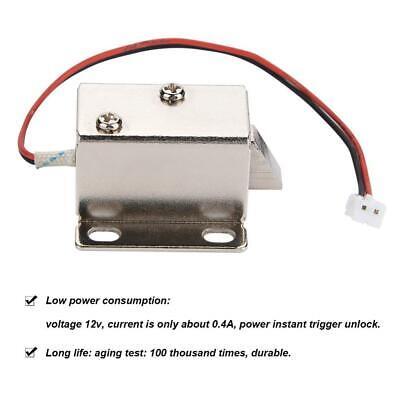 Cerradura electrónica eléctrica de puerta DC 12V Control para puerta Cajón