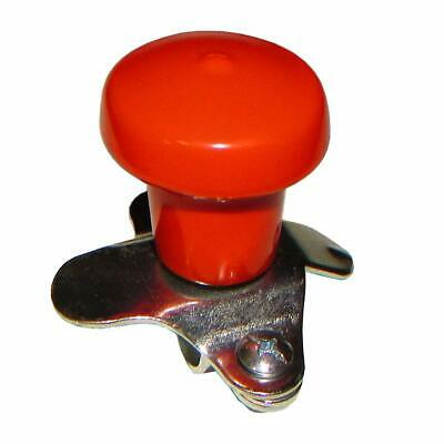 Kubota Allis Universal Tractor Orange Vinyl Steering Wheel Spinner Knob Wsv125or