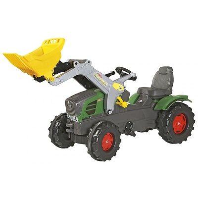 Rolly Toys Fendt Vario 211Traktor mit Frontlader Trettraktor grün