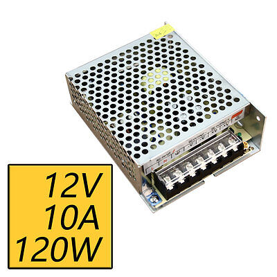 12v 10a 120w Switch Switching Power Supply Driver For Led Strip Light 110v220v