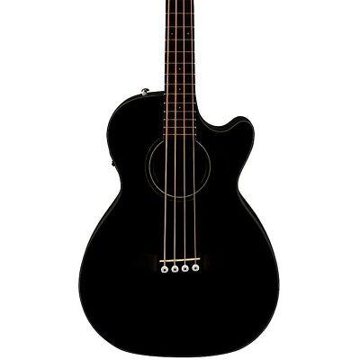 Fender CB-60SCE Acoustic Electric Bass Guitar Black