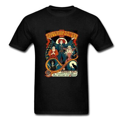Hocus Pocus Sanderson Sisters Halloween T-Shirt Mens Womens Youth Kids Top Tees - Women's Halloween T Shirts