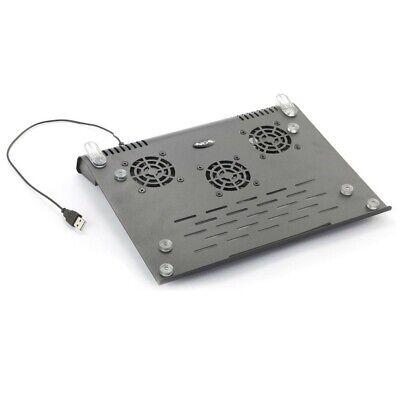 NGS Slim Stand - Soporte de Ordenador portátil con Ventilador, Color Negro segunda mano  Cartagena