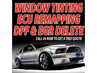 ** OFFER ** CAR WINDOW TINTING \ ECU REMAPPING \ DPF & EGR DELETE!