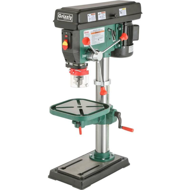 """Grizzly G7943 14"""" Heavy-Duty Benchtop Drill Press"""