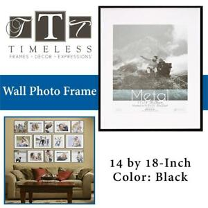 NEW Timeless Frames Metal Wall Photo Frame, 14 by 18-Inch, Black Condtion: New, Black, 14 x 18