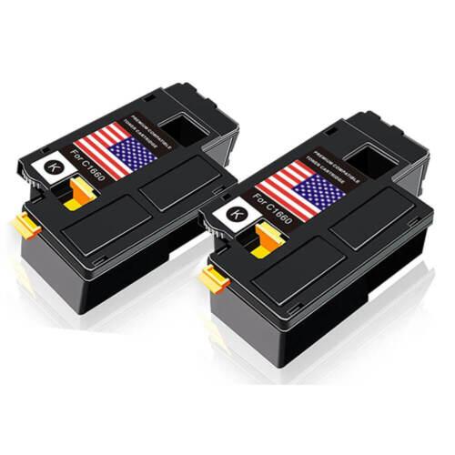 1PK 4G9HP 332-0399 1660 Toner Black For Dell C1660w C1660dn C1660dnw C1660cnw