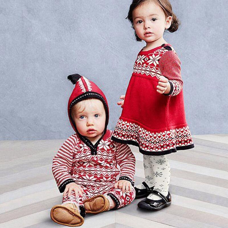 infant toddler baby christmas boy girl geometric