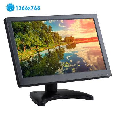 """12"""" Zoll TFT LED HD Bildschirm CCTV Sicherheit VGA/MIC/HDMI Monitor Lautsprecher"""