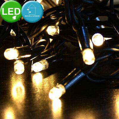 LED Navidad Iluminación Luces Cortina Cadena Navidad Árbol Exterior de Lámparas