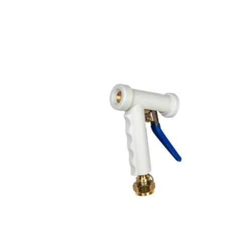"Mini M-70 Strahman Spray Nozzle White ¾"" GHT Swivel Adapter"
