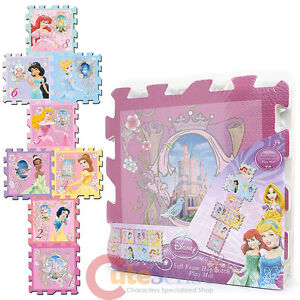 Disney Princess Soft Foam Puzzle Mats Hopscotch Play Mat