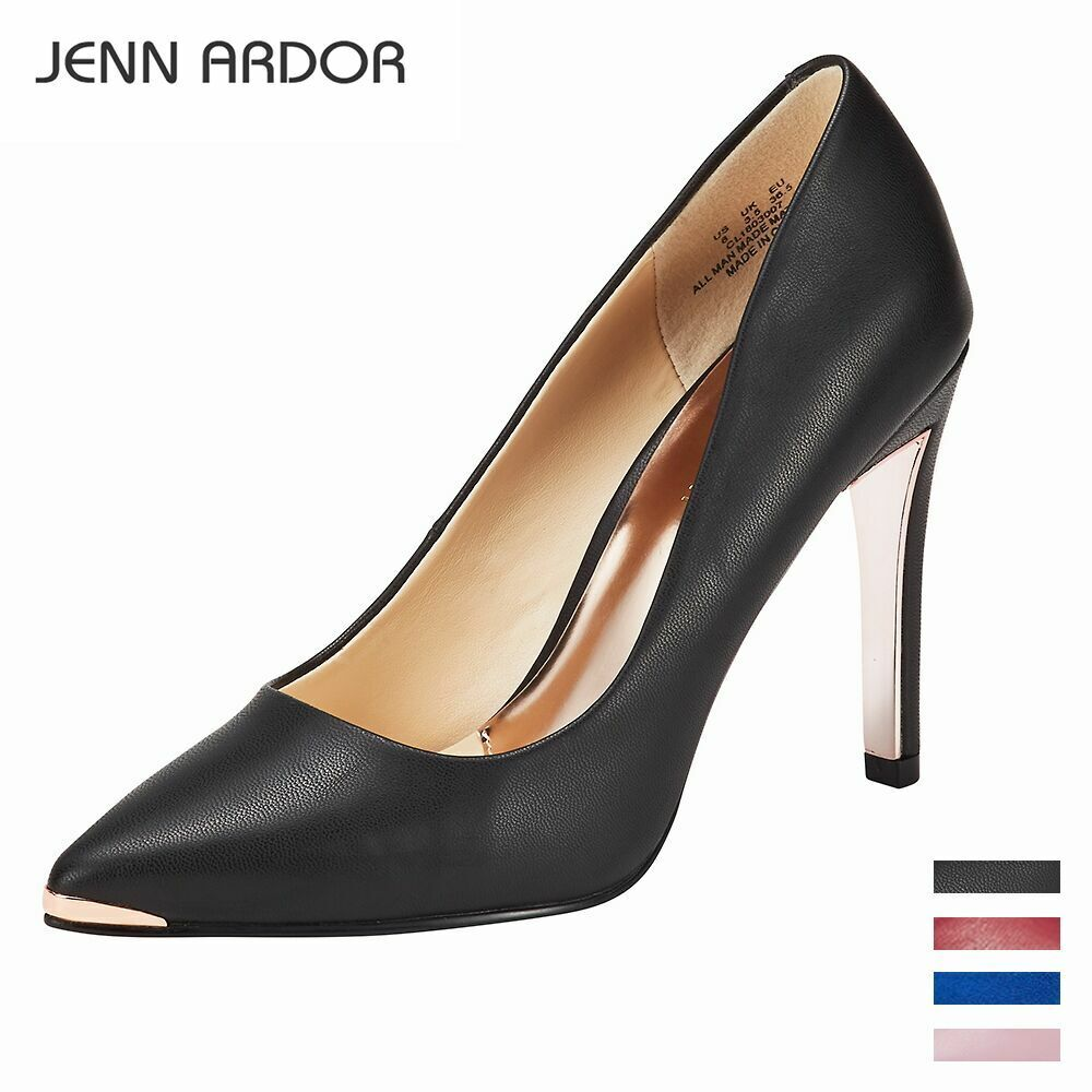 Women's Closed Pointed Toe Pumps Stiletto High Heels Office Lady High Heel Shoes