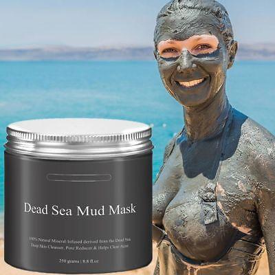 - Dead Sea Mud Mask 250G 8.8 fl.oz. Deep Skin Cleanser Facial Black Mask purifying
