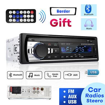 Bluetooth Car Stereo Audio In-Dash FM Aux Input Receiver MP3 Radio Player TF USB