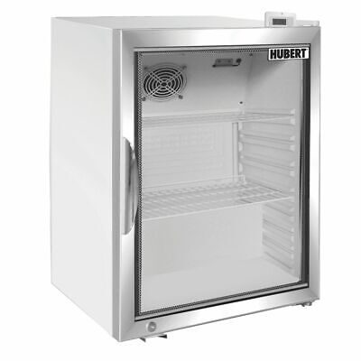 Hubert Glass Door Countertop Food Merchandiser Refrigerator 4.1 Cu Ft White - 24
