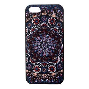 Mandala-Floral-Pattern-Designer-Hard-Back-Case-Cover-for-Apple-iPhone-5-5S-5th
