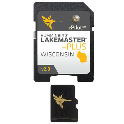 Humminbird 600025-6 LakeMaster Wisconsin Edition - Version 2 w/ Full Lake List