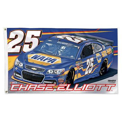 2015 Chase Elliott  25 Napa Auto Parts  Nascar Sprint Cup Racing 3X5 Flag