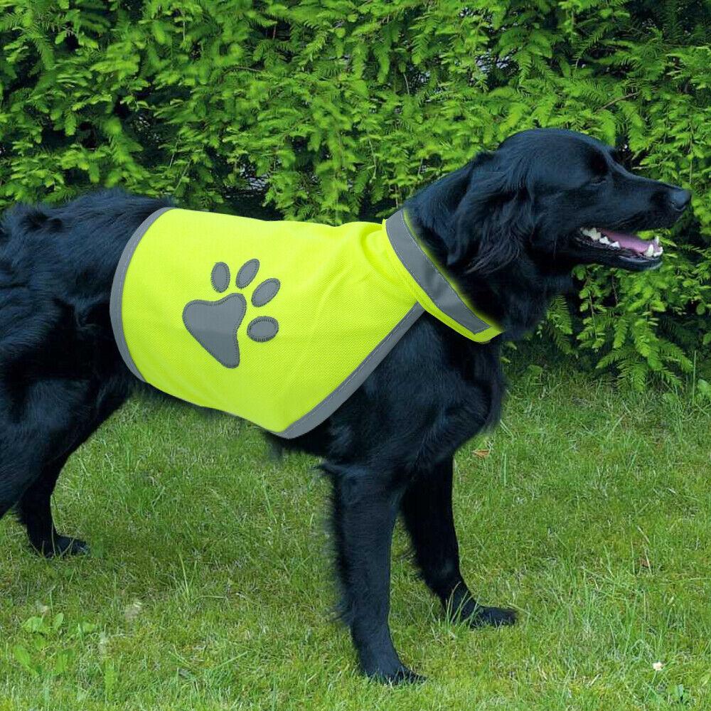 Reflective High Visibility Dog Clothes Hi Vis Viz Night