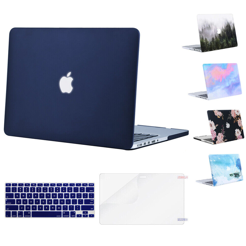 Mosiso Macbook Pro 15 A1398 Retina Case 2012-2015 Matte Hard