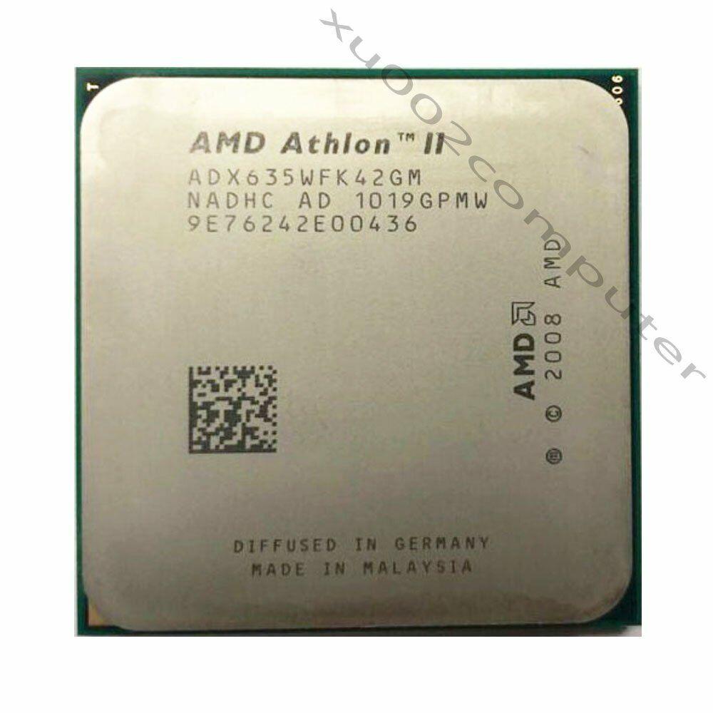 Amd Athlon Ii X4 635 Quad Core 2 9 Ghz 2m Socket Am3 Cpu Processors Ebay