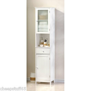 lakeside tall storage cabinet bathroom storage linen tower